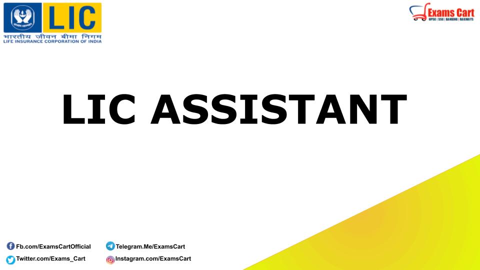 LIC Assistant