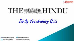 Daily Vocabulary Quiz