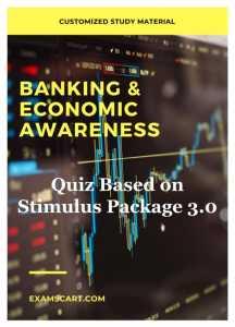 Quiz Based on Stimulus Package