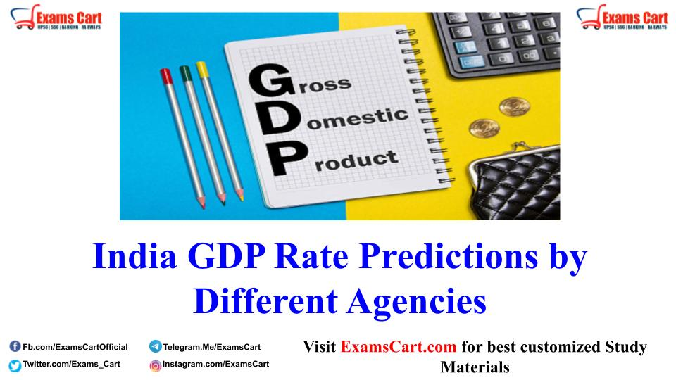 India GDP Rate Predictions