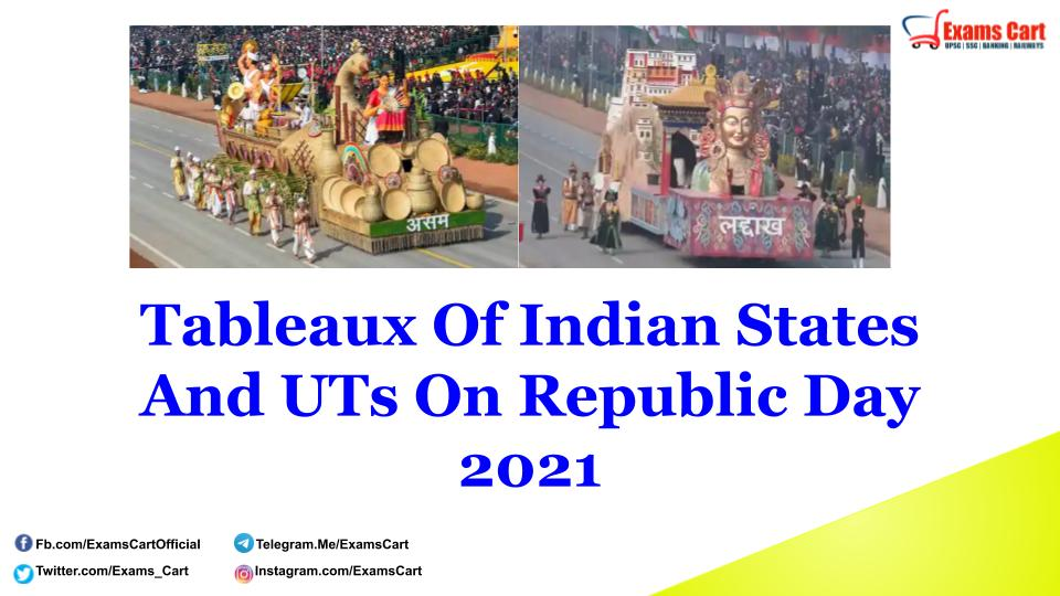 Tableaux Of Indian States And UTs