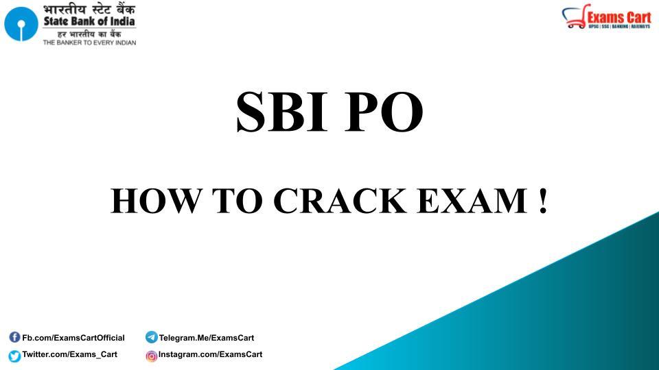 How To Crack SBI PO Exam
