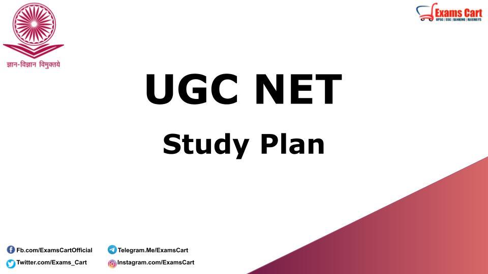 UGC NET Study Plan