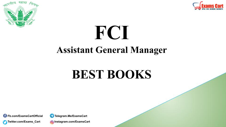Best Books For FCI