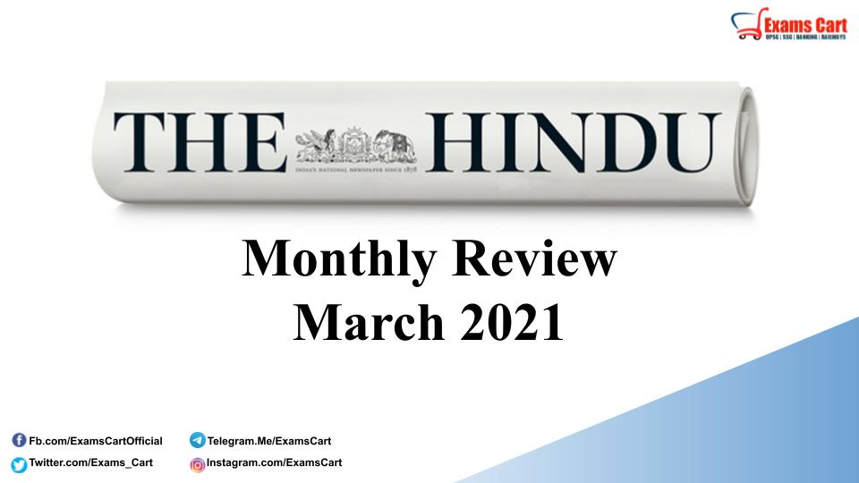 The Hindu Review March 2021