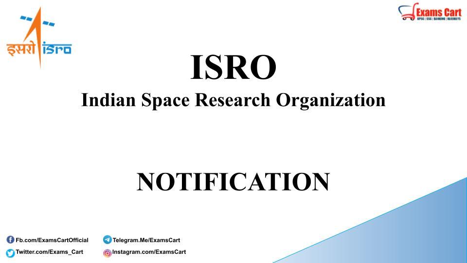 ISRO Recruitment 2021
