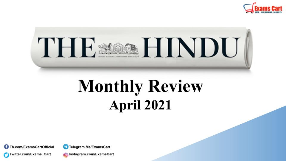 The Hindu Review April 2021